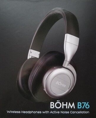 43dd376f865 New in the Box BOHM B76 Wireless Bluetooth Over-Ear Noise-Canceling  Headphones