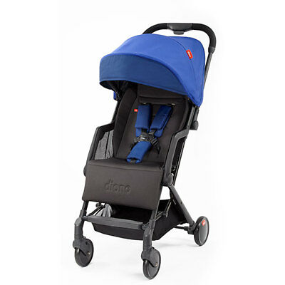 """Diono Traverze Compact Travel Stroller Blue """"Silver Collection"""" New! Free Ship!"""
