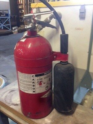 10 lb Amerex CO2 Fire Extinguisher - Fresh Hydrostatic Test - Great Condition