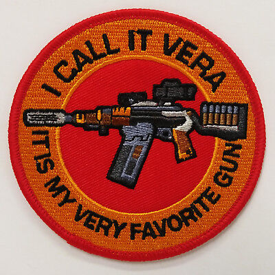 "Serenity/Firefly ""I Call It Vera - It's My Favorite Gun"" 3.5"" Patch (SEPA-032)"