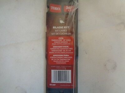 "New Toro 20120P Twin Blade Kit For 30"" Timemaster Lawn Mower Qty 2"