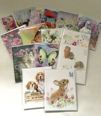 Noel Tatt Cards For Any Occasion 4 x Card Pack Various Designs