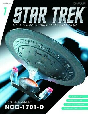 Star Trek Starships Figurine Collection Magazin + Modell 1: USS Enterprise NCC-1
