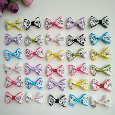 10pcs 1.4inch Baby Girls Bowknot Small Hair Bows with Clips Barrettes for Kids