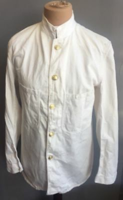 Vintage Wwii Cc41 Merchant Navy Tunic Jacket Summer Wear