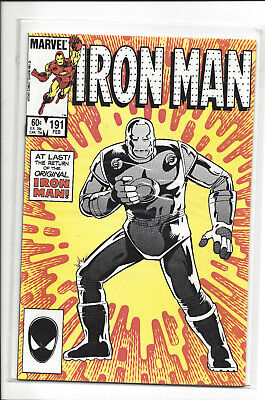 Iron Man #191  Bagged and boarded, doesn't look like it has ever been read.