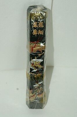 Vintage Ink Stick With Dragon And Phoenix