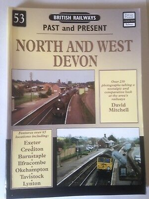Past & Present - North and West Devon by David Mitchell (Paperback, 2006)