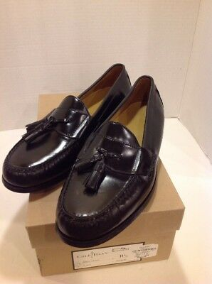 b728db3d2fa Cole Haan Pinch Tassel Men s Leather Loafers Dress Shoes Size 11.5 D Black