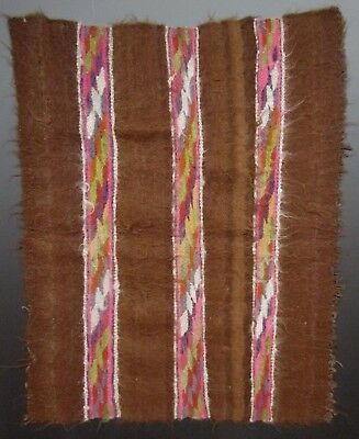 Late Colonial Early Republican Peru Southern Highlands Camelid Manto 18-19th c.