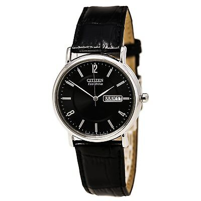 Citizen BM8240-03E Eco-Drive Black Dial Men's Black Strap Watch