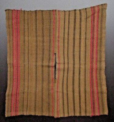Late Colonial early Republican Peru Southern Highlands Child's Poncho 18-19th c.