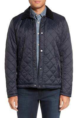 Barbour Men's Holme Quilted Jacket (Navy, XXL)