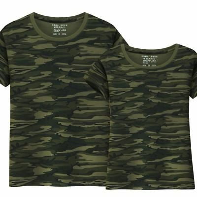 Military Camouflage Unisex Tactical Army Combat T Shirt Short Sleeve Clothing