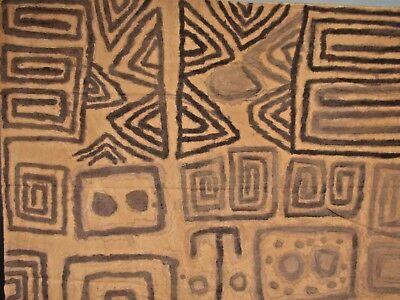 Very RARE Peru Brazil Ashaninka Painted Textile ca early 20th c. Ex. Museum Coll