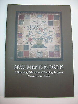 """Sew, Mend, & Darn"", Hiscock, Catalogue on darning samplers, 18 pages, free post"