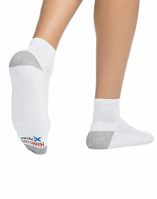 Hanes Ankle Socks 6-Pack Men's X-Temp Comfort Cool FreshIQ Wicking Soft Smooth