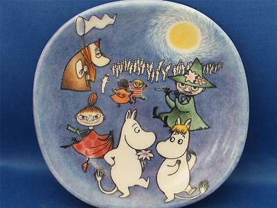 ARABIA FINLAND  MOOMIN The Ball WALL PLATE