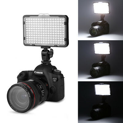 Craphy PT-176S LED Video Light Dimmable Panel for Canon Nikon DSLR DV Camcorder
