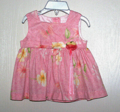 NWT Youngland Girls Gingham Easter Dress 3-6 Mos 6-9 Mos