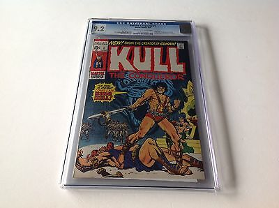 Kull The Conqueror 1 Cgc 9.2 Origin And 2Nd App Robert E Howard Marvel Comics