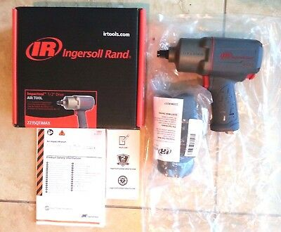 "INGERSOLL RAND 2235QTiMAX 1/2"" DRIVE IMPACT WRENCH + 2235M IR BOOT TOOL COVER"