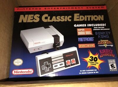 Nintendo NES Classic Edition Mini Console with 30 games BRAND NEW | UNOPENED