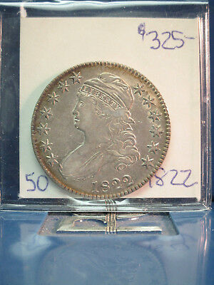 1822 Capped Bust 50c