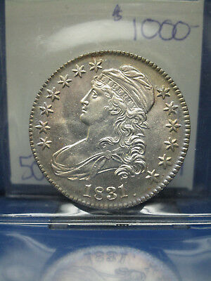 1831 Capped Bust Half 50c Choice UNC EXTRA NICE!!!