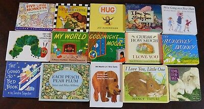 Set Of 15 Classic Most Popular Baby Children S Picture Books Read
