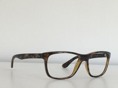 c44156a3eb A30 Ray Ban RB 4181 710 83 Havana Rectangle Frame Only Sunglasses 57-16