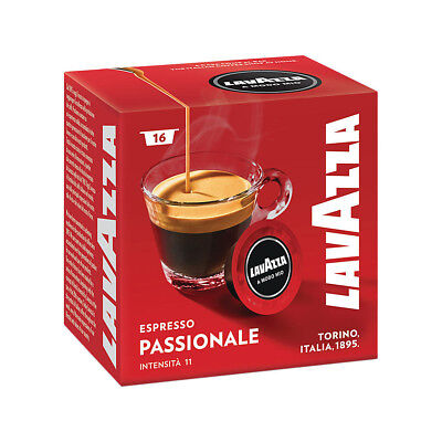 Lavazza A Modo Mio Espresso Passionale 160 Pods for Capsule Coffee Machine, Dark