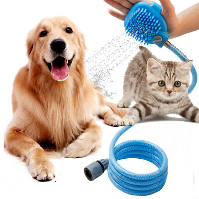 3 in 1 Hundedusche Haustier Dusche Kit Handbrause Katze Sprayer Massage Shower