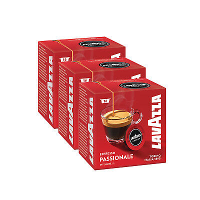 Lavazza A Modo Mio Espresso Passionale 48 Pods for Capsule Coffee Machine, Dark