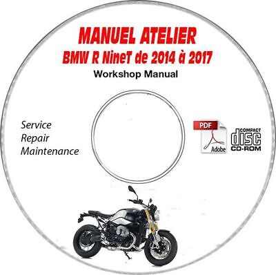 R nineT 14-17 Manuel Atelier CDROM BMW Expédition - Inclus, Support - CD-ROM -