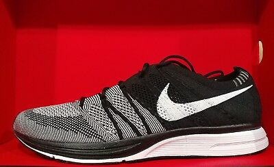 7aaa83452230 NIKE FLYKNIT TRAINER Oreo Black White (AH8396-005) Mens Size 9.5 New ...