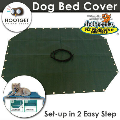 HoundHouse Universal Trampoline Hammock Framed Canvas Dog Bed Replacement Cover