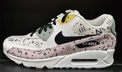 the latest 333e7 92811 ... get nike air max 90 premium scribbles barely rose white mens sz 10  700155 603 f14f6