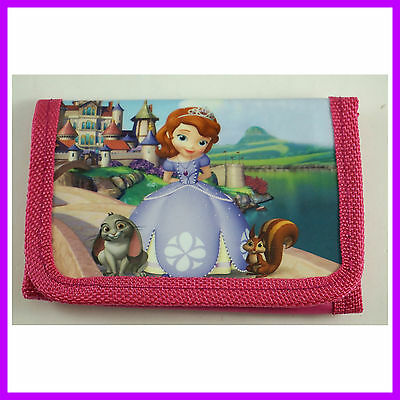 NEW Princess Sofia Children's Kids Boys Girls Purse Wallet For Christmas Gift