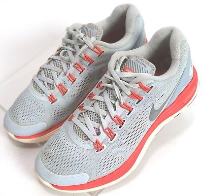 new concept 73a83 fa576 Nike Lunarglide 4  94.00 Women s Running Shoes Size 8 H2O Repel Knit Gray