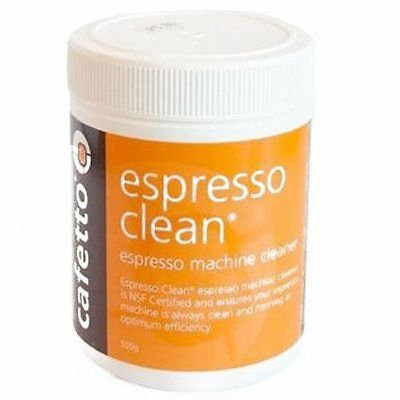 CAFETTO 500g ESPRESSO CLEAN Coffee Machine Cleaner Professional Cleaning Powder