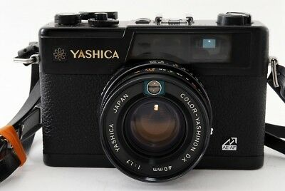 Yashica Electro 35 GX 35mm Rangefinder Film Camera w/Lens Excellent!  ♯668-3