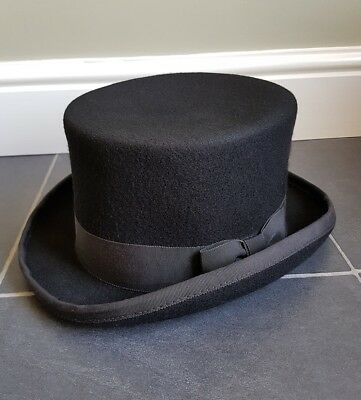 Burgess Hats Top Hat 100% Wool Size Small dc89baf4aa5