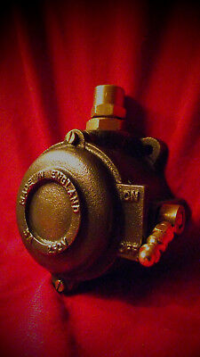 Vintage Industrial Light Switch Crabtree Cast Iron One Gang Handle Operated RARE
