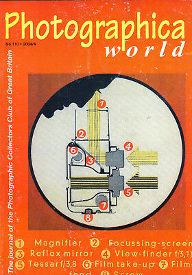 Photographica world magazine , No. 110 , 2004/4     with  Rolleiflex   article