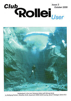 Club Rollei user  magazine , Issue 3  October  2006   in   English