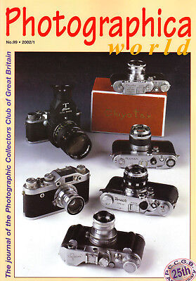 Photographica world magazine No 99 ,  2002/1  with  Fake Leica   article