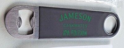 New Jameson Caskmates Paddle Bottle Opener IPA Edition Speed Bar Blade Bartender