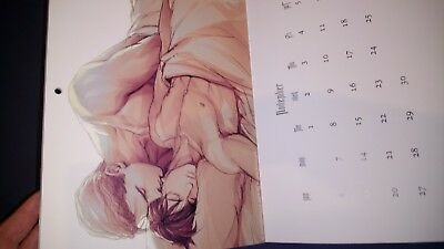 Guilt Pleasure Kalender 2016 Yaoi Illustrations In these words