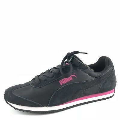 e12b841766a793 PUMA SPORT STYLE Black Suede Atheltic Shoes Sneakers Women s Size 8 ...